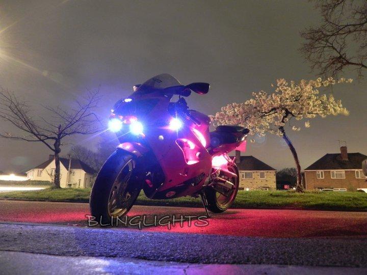 1994-2003 Kawasaki Ninja ZX-9R Xenon Driving Lights Fog Lamps Drivinglights Foglamps Foglights Kit