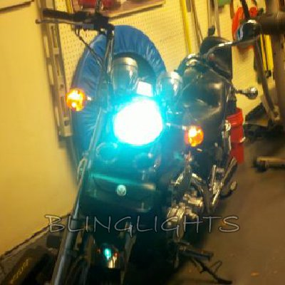 Kawasaki Vulcan 2000 VN2000 Xenon HID Conversion Kit for Headlamp Headlight Head Lamp Light HIDs