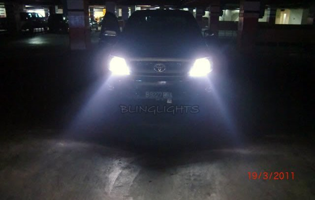 Toyota HiLux Bright White Replacement Light Bulbs for Headlamps Headlights Head Lamps Lights