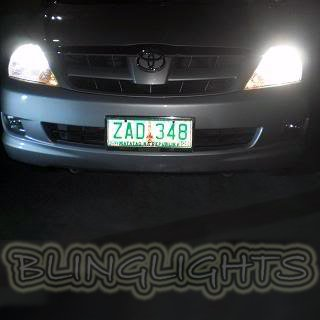 Toyota Innova Bright White Replacement Light Bulbs for Headlamps Headlights Head Lamps Lights