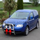 Volkswagen VW Caddy Auxilliary Lamp Brush Bar Driving Lights Off Road Aux Offroad Lamps Kit