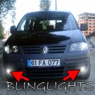 2004 2005 2006 2007 2008 2009 2010 Volkswagen VW Caddy Xenon Fog Lamps Driving Lights Foglamps Kit