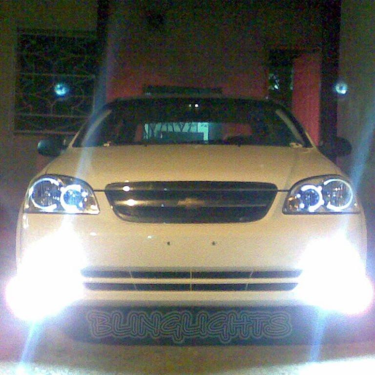 2005 2006 2007 2008 Holden Viva JF Xenon Fog Lamps Driving Lights Foglamps Foglights Kit