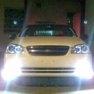 2004 2005 2006 2007 2008 Chevrolet Chevy Lacetti Xenon Fog Lamps Driving Lights Foglamps Kit