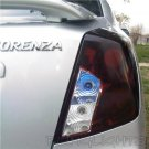 Daewoo Nubira Tinted Smoked Protection Overlays for Taillamps Taillights Tail Lamps Lights