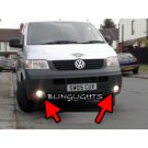 Volkswange VW T5 Transporter Shuttle Xenon Fog Lamps Driving Lights Foglamps Foglights Kit