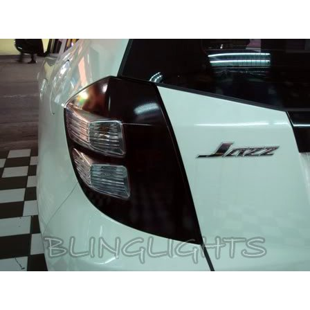 Honda Fit Tinted Smoked Taillamp Taillight Overlay Film Protection