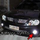 2005 2006 2007 2008 Toyota SW4 Halo Fog Lamps Angel Eye Driving Lights Foglamps Foglights Kit