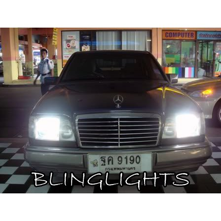 1993-2000 Mercedes C-Class W202 Bright White Light Bulbs for Headlamps Headlights Head Lamps Lights