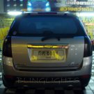 Chevrolet Chevy Captiva Sport Tinted Smoked Overlays for Taillamps Taillights Tail Lamps Lights