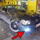 2003 2004 2005 2006 Mercedes-Benz CLK55 AMG LED Foglamps Fog Lights Driving Lamps clk 55 C209 A209