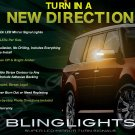 Ford Flex LED Side View Mirrors Turnsignals Lights Mirror Accent Turn Signals Lamps Signalers