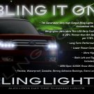 Ford Flex LED Day Time Running Light Strip Kit Headlamp DRLs