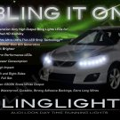 Toyota Matrix LED DRL Light Strips for Headlamps Headlights Head Lamps Day Time Running Strip Lights
