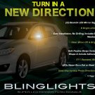 Toyota Voltz LED Side Mirror Turnsignals Lights Mirrors Turn Signals Lamps Accents Markers Signalers
