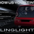 Volkswagen VW up! Tinted Smoked Protection Overlays for Taillamps Taillights Tail Lamps Lights