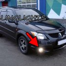 2003 2004 Pontiac Vibe Xenon Fog Lamps Driving Lights Foglamps Foglights kit