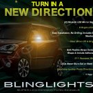 Kia Soul LED Side View Mirrors Turnsignals Lights Mirror Turn Signals Accents Lamps Signalers