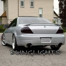 2001 2002 2003 Acura CL Tinted Smoked Tail Lamps Lights Overlays Film Protection