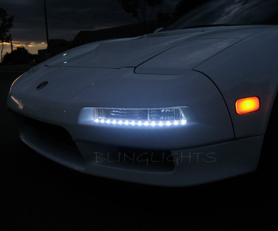 1991-2001 Acura NSX LED DRL Light Strips Day Time Running Lamps Kit