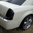 2005 2006 2007 2008 2009 2010 Chrysler 300 300c Tinted Smoked Taillamps Taillights Film Overlays