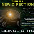 Honda CR-V CRV LED Side Mirrors Turn Signals Lights Turnsignals Lamps Mirror Signalers