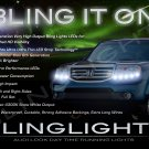 Honda Pilot LED DRL Head Light Strips Day Time Running Lamp Kit