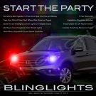 Honda CR-V CRV Police Strobe Light Kit for Headlamps Headlights Head Lamps Strobes Lights