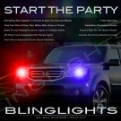Honda Pilot Police Strobe Light Kit for Headlamps Headlights Head Lamps Lights Strobes