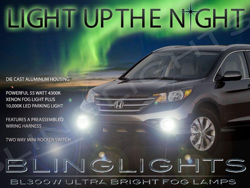 2012 2013 2014 Honda CR-V Xenon Fog Lamps Driving Lights