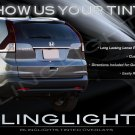 Honda CR-V Murdered Out Taillight Covers Tinted CRV Taillamp Overlays