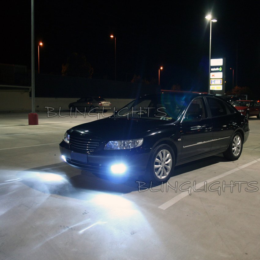 2006 2007 2008 2009 2010 Hyundai Azera Xenon Fog Lamps Driving Lights Foglamps Foglights Kit