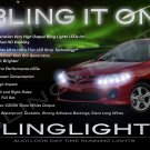 Toyota Corolla LED DRL Head Lamp Light Strips Day Time Running Kit