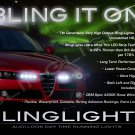Alfa Romeo 159 LED DRL Light Strips for Headlamps Headlights Head Lamps Day Time Running Lights