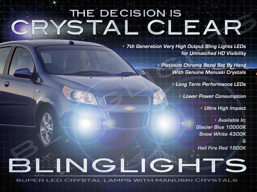 2009 2010 2011 Chevy Aveo Fog Lamp Driving Light Kit LED
