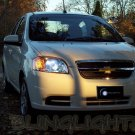 Chevrolet Chevy Kalos Bright White Light Bulbs for Headlamps Headlights Head Lamps Lights