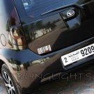 Daihatsu Boon Tinted Smoked Tail Lights Lamps Overlays Kit Film Protection