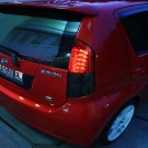 Daihatsu Storia Tinted Smoked Tail Lamps Lights Overlays Kit Protection Film