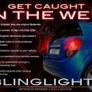 Chevrolet Sonic Tail Lamp Custom LED Spider Light Bulbs