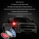 1999-2012 GMC Sierra LED Side Markers Turnsignals Turn Signals Lights Blinkers Signalers Lamps