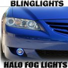 2003 2004 2005 2006 2007 2008 Mazda6 Halo Fog Lamps Angel Eye Driving Lights Foglamps Foglights Kit