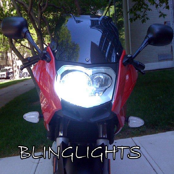 BMW F800ST F800S F800R Xenon 55 Watt HID Conversion Kit for Headlamps Headlights Head Lamps Lights