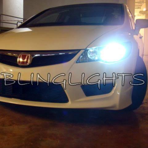 Honda Civic Xenon HID Head Lamp Conversion Light Kit 55watt