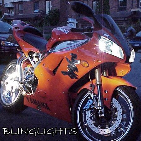 Yamaha YZF-R1 Bright White Upgrade Light Bulbs for Headlamps Headlights Head Lamps Lights