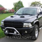 Dodge Dakota 100w Off Road Halo Driving Lamps Auxilliary Angel Eye Light Bar Trail Lights Kit
