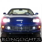 1998 1999 2000 2001 2002 2003 Ferarri 456 M GT GTA Bright White Light Bulbs for Headlamps Headlights
