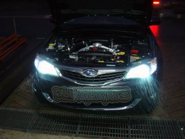 2008-2011 Subaru Impreza Bright Head Lamps Light Bulbs Replacement Upgrade