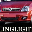 2002 2003 2004 2005 2006 2007 2008 2009 2010 Chevrolet Meriva Xenon Fog Lamps Lights Foglamps Kit