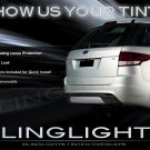 Ford Explorer Tinted Smoked Taillamps Taillights Overlays Film Protection