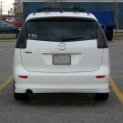 2005-2010 Mazda Premacy Smoked Tail Light Lamp Overlays Kit Tinted Protection Film